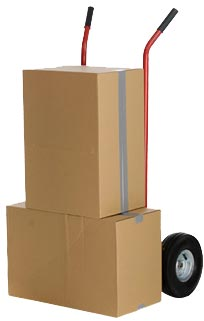 trolly for moving furniture items and boxes - image
